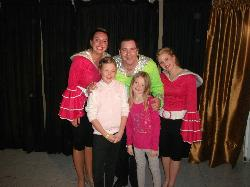 me and mia with the entertainment team x