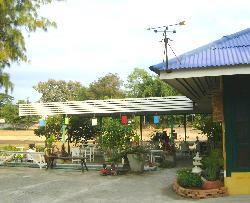 riverside dining area