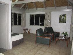 Interior sitting area