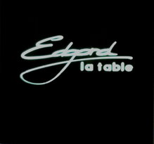 La Table d'Edgard