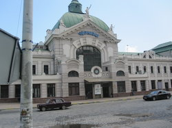 Chernivtsi Train Station