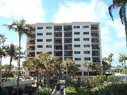 Front of Buliding 2/Saturday arrivals viewed from the beach. 803 itop floor, 3rd from right
