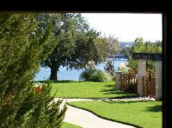 Beautiful grounds with Lake Granbury