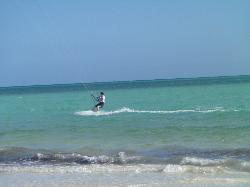 kiteboarding South Andros