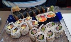 Good authentic food. Japanese customers aplenty