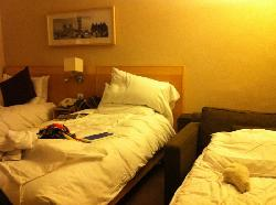 our bed