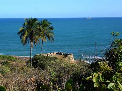 Ruínas do Forte Castelo do Mar