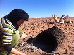 Haciendo pan en el desierto