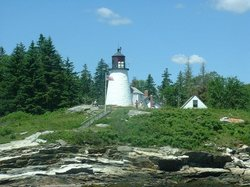 Burnt Island Lighthouse