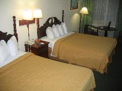 Room (beds and table)