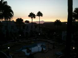 Sun Set at Nido Del Aguila