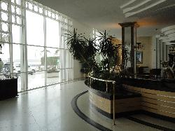 View in main reception area