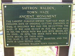 Saffron Walden Turf Maze