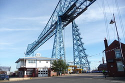 ‪Tees Transporter Bridge‬