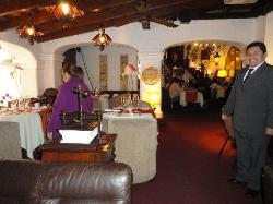 Seja bem vindo ao Bar e restaurante do hotel El Condado...