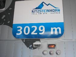 At the top of Kitzsteinhorn!