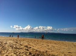 la spiaggia a 5 minuti dall'hotel