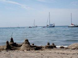Hanlan's Point Beach