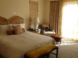 Bedroom of Ocean View Suite
