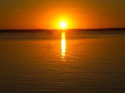 Sunset at Hampton Inn Key Large