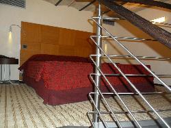 Bedroom in the Junior suite