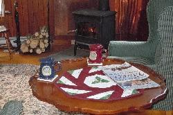 Sit by the fire on a winter evening, enjoying some warm cider or a cup of tea...