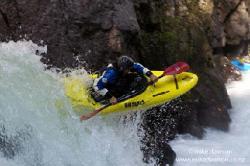 Kayakeando en Mexico