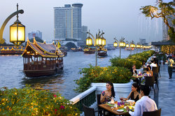 Riverside Terrace at Mandarin Oriental, Bangkok