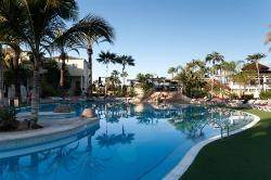 A typical all-inclusive hotel