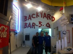 Backyard Bar Bq