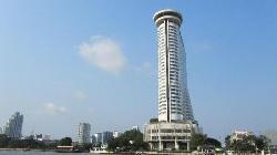Millennium Hilton Bangkok seen from the river