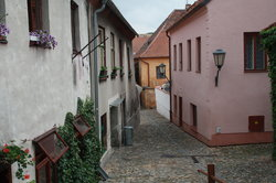 The Jewish Quarter and St Procopius' Basilica in Trebic