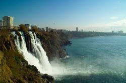 Düden-Wasserfälle in Antalya