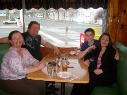 Our family at The Griddle