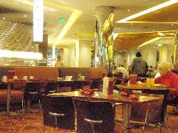 The buffet restaurant