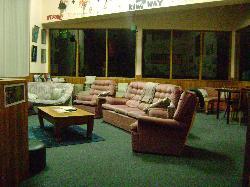 Big, open living room area