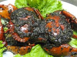 Bert's Garden Seafood Medan Ikan Bakar Batang Tiga