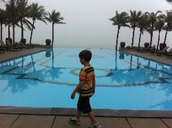 2nd pool area in main hotel