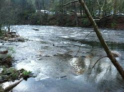 river outside of our Kabin