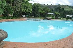 The welcoming pool!
