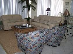 Beautifully decorated living areas.