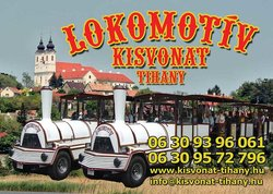 Lokomotiv Kisvonat / Road Train Tihany