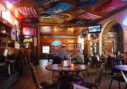 Main dining area of the Rock Inn