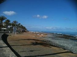nearest beach but not the main one