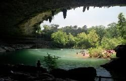 drive 25 min to the amazing Hamilton Pool Preserve and swim in a cave!