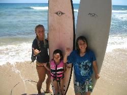 Great Day of Surfing with Melissa