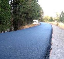 Latah Trail Bike Path