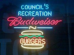 Council's Burgers, Beer, Billiards