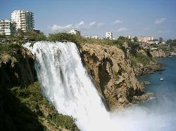 Waterfall to mediterniean Antalya (40839245)