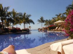Poolside view toward Sea of Cortes